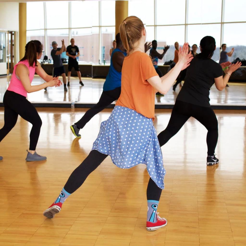 combat aerobics class