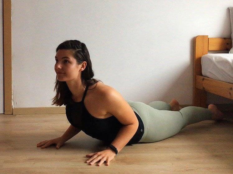 yoga for beginners cobra